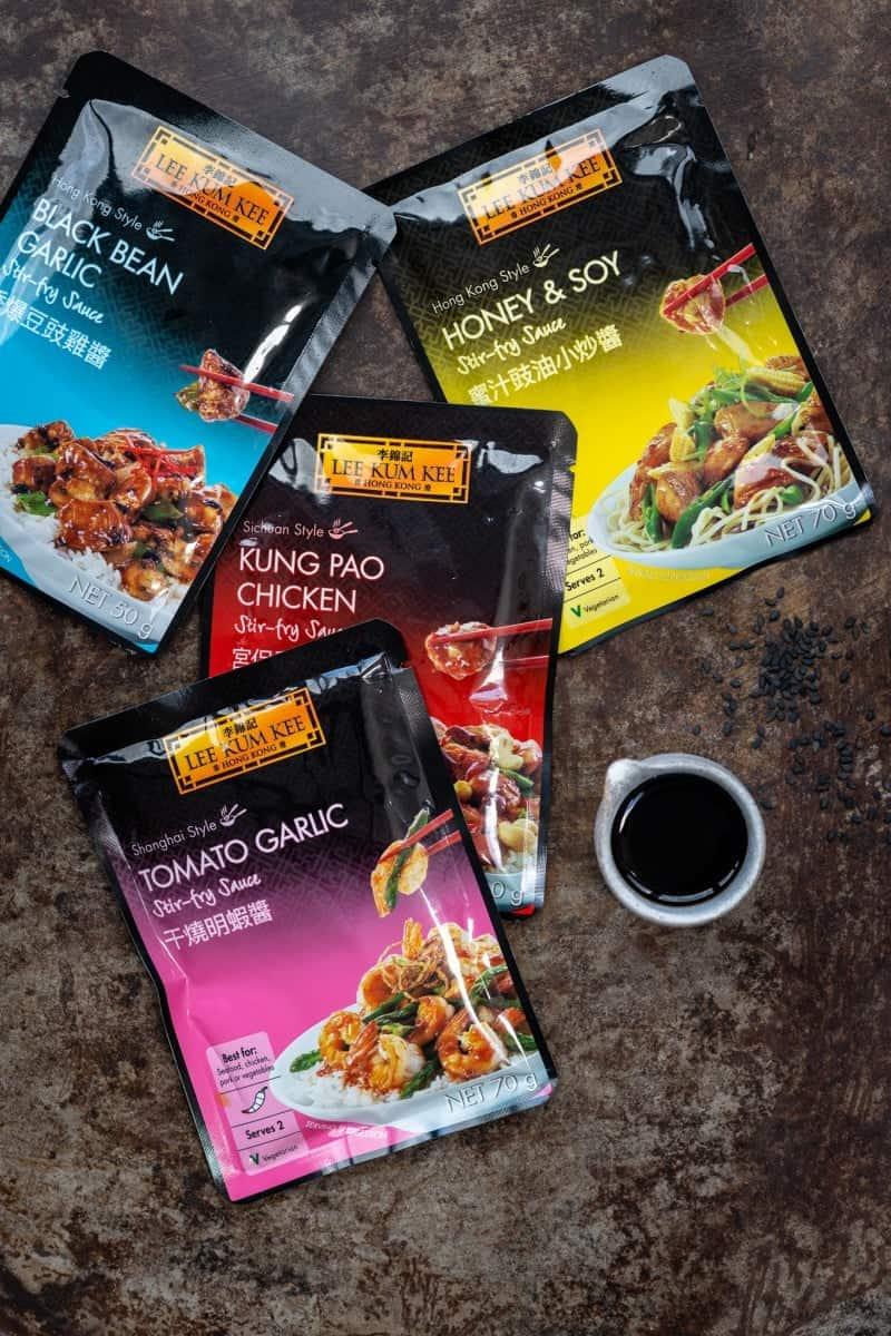 Lee Kum Kee stir fry sauces