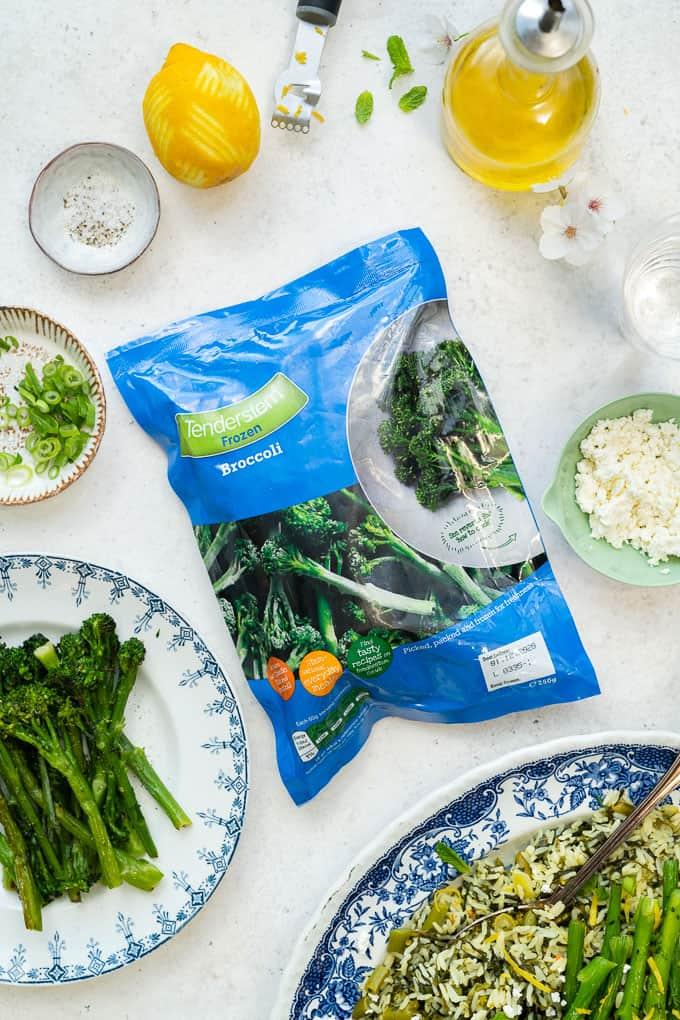 Tenderstem broccoli pack