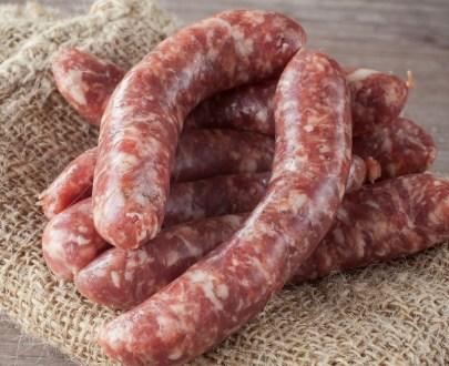 saucisse de toulouse 25 kg - Saucisse de toulouse (porc et veau)