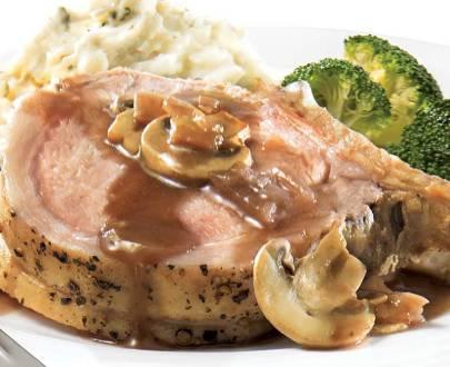 carre de porc aux champignons 1160x650 BS005781 pub 67290 01 - Roti de porc précuit sauce champignons