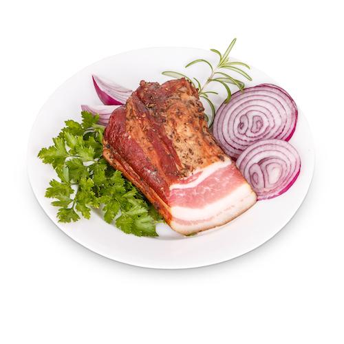 smoked bacon P6JB26U copie - Lard précuit