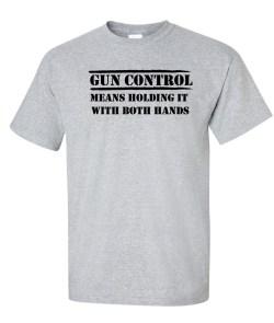 GUN CONTROL gray