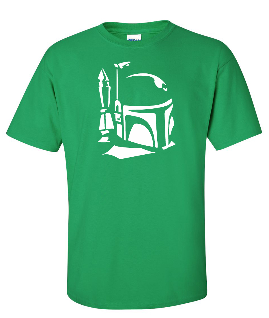 Boba Fett Star Wars Logo Graphic T Shirt Supergraphictees