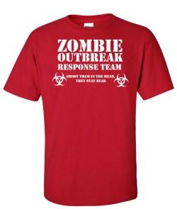 zombie response team red