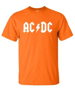 AC DC orange