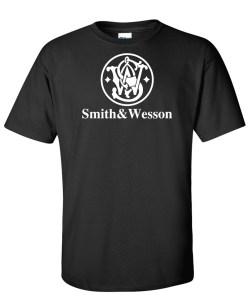 SMITH AND WESSON black