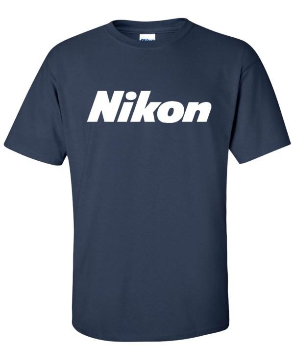 Nikon Digital Camera Logo Graphic T Shirt - Super Tees
