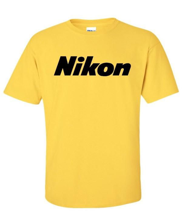 Nikon Digital Camera Logo Graphic T Shirt - Supergraphictees