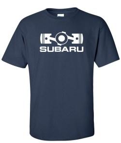 subaru boxer engine navyblue