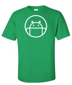 android round logo green