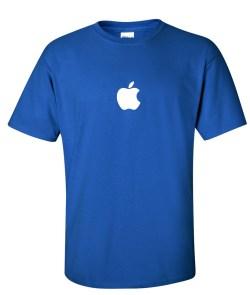apple employee logo t shirt