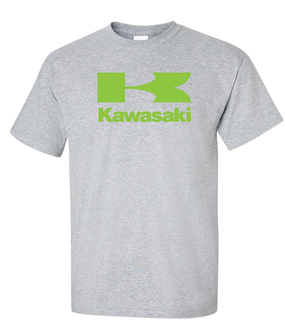 kawasaki large logo graphic t shirt supergraphictees. Black Bedroom Furniture Sets. Home Design Ideas