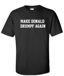 make donald drumpf again black
