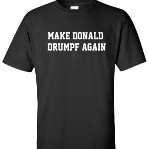 make donald drumpf again black