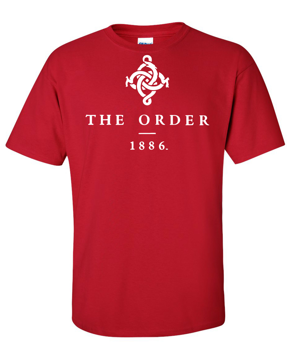 The order 1886 red supergraphictees for The order 1886 shirt