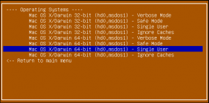 Super Grub2 Disk 2.00s2 rc4 Mac OS X entries