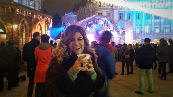 SuperGulia la Bucharest Christmas Market