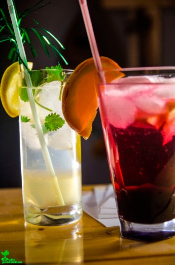Cocktailuri cu YO sirop de fructe