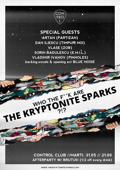 The Kryptonite Sparks concert Control