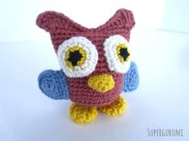 Amigurumi Crochet Owl Pattern