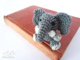 Amigurumi Elephant Detail