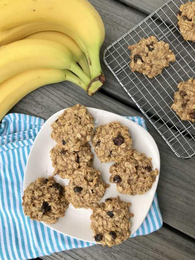 sugar free cookies sweetened with bananas