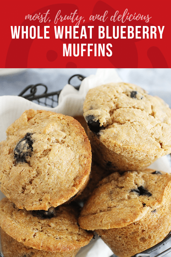 Whole Wheat Blueberry Muffins | Healthy Ideas and Recipes for Kids