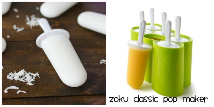 Top 10 Ice Pop Molds for Fruit and Veggie Pops. Zoku classic pop maker