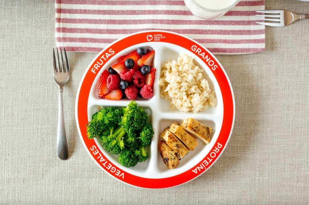 medium resolution of usda food plate diagram