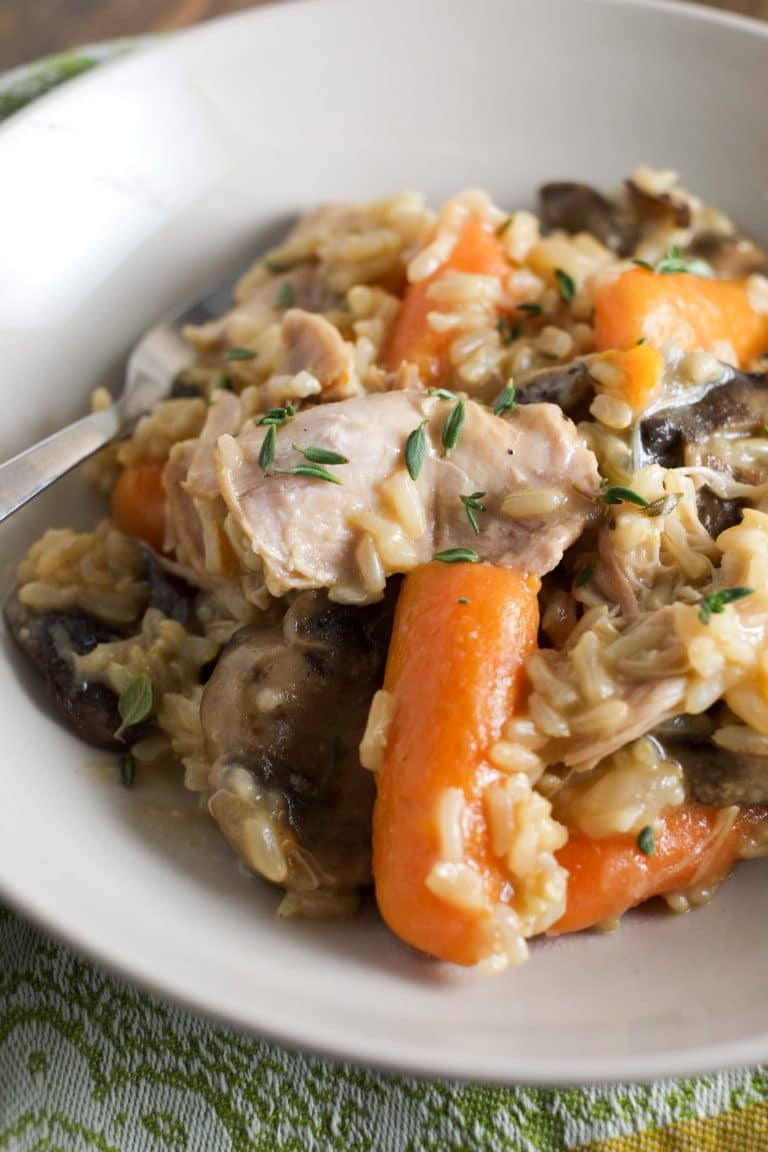 Instant Pot Chicken and Brown Rice, by Super Healthy Kids