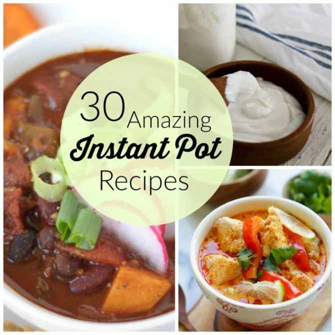 30 Amazing Instant Pot Recipes. The Instant Pot is the new kitchen super hero, and teamed up with the recipes from our round up, its powers are practically boundless.