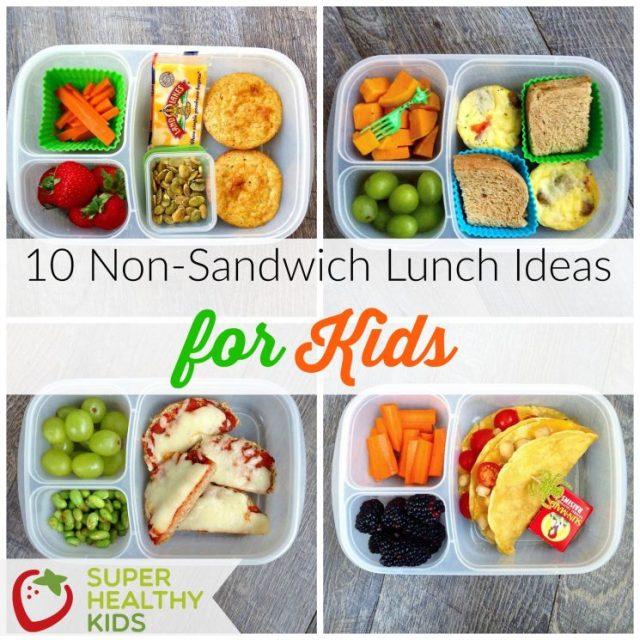 non-sandwich lunchbox ideas