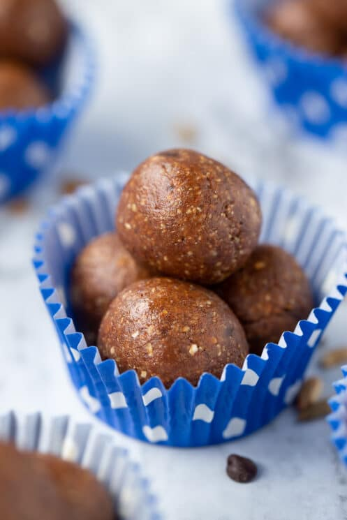 peanut butter fudge protein energy balls