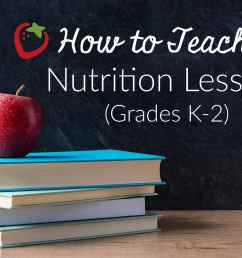 How to Teach a Nutrition Lesson (Grades K-2) - Super Healthy Kids [ 2720 x 4096 Pixel ]