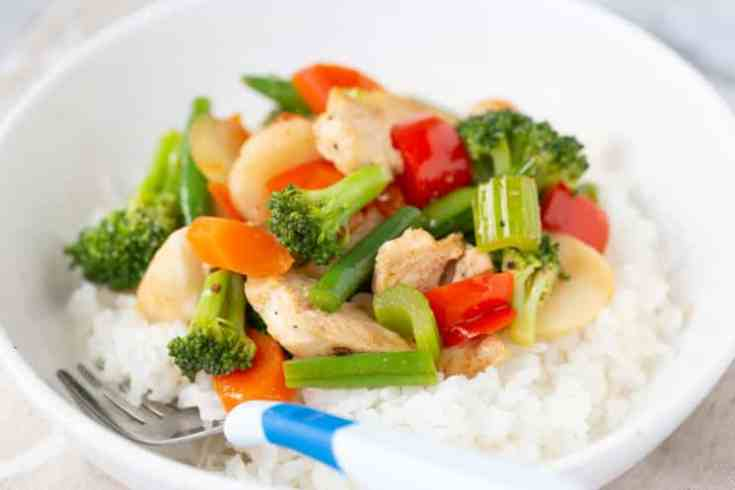 asian stir fry freezer meal