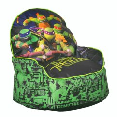 Ninja Turtles Chair Accent For Living Room Teenage Mutant Bean Bag Superhero Collection