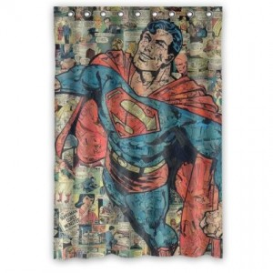 Superman Shower Curtain Superhero Collection