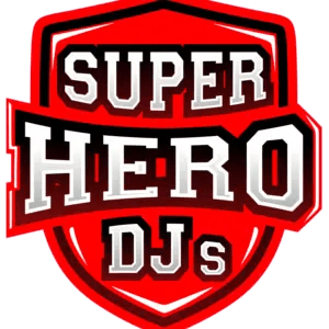 LOGO - SUPER HERO DJs