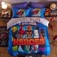 Marvel Super Heroes Bedding Set Twin Queen King size ...