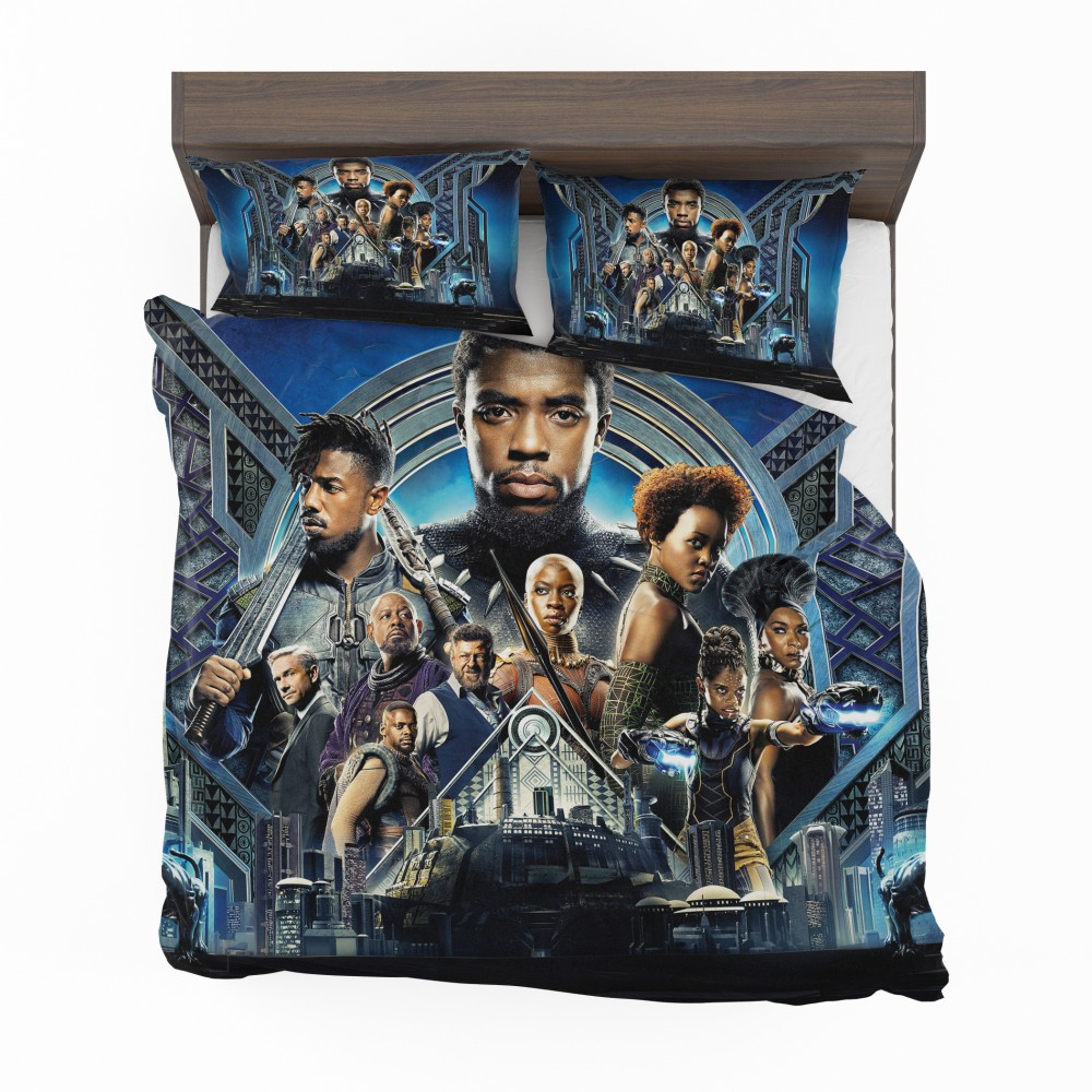 Black Panther Movie 2018 Marvel Bedding Set Super Heroes