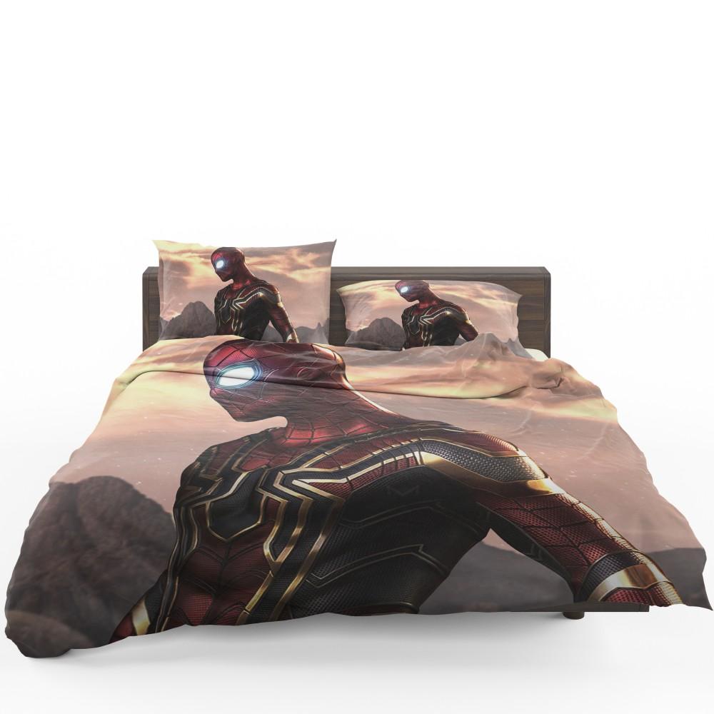 spider man iron spider marvel avengers infinity war bedding set