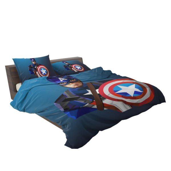 Marvel Captain America Winter Soldier Bedding Set Super Heroes