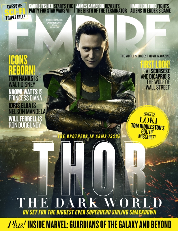 Empire's 'Thor: The Dark World' covers feature Thor and Loki