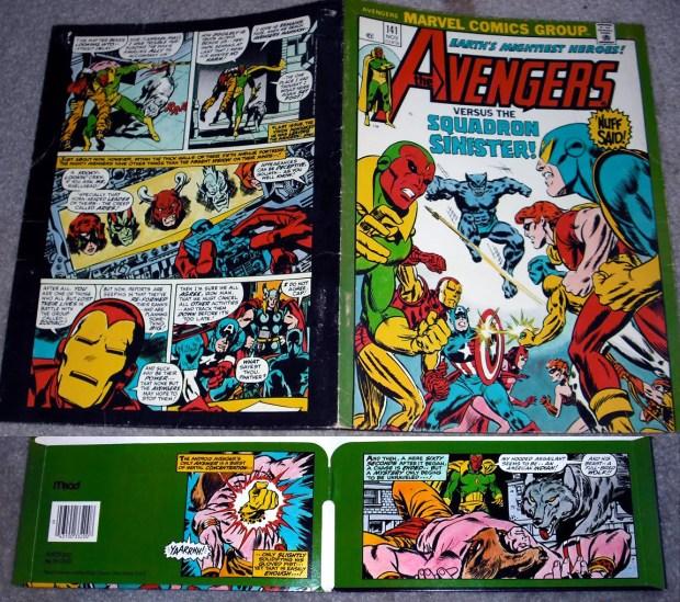 Avengers Folder - The Vision