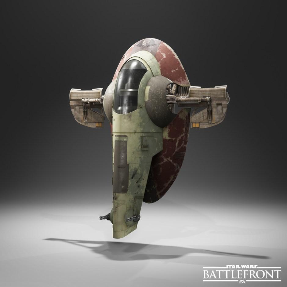 Star Wars Battlefront - Slave I