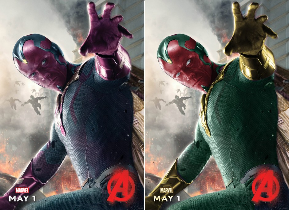 The Vision - Avengers Age of Ultron Recolor