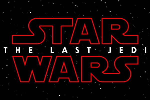 Star Wars the Last Jedi Title