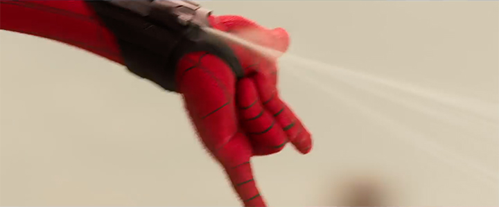 Spider-Man Homecoming Suit Webshooters