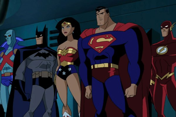 Justice League Animated Bruce Timm Style