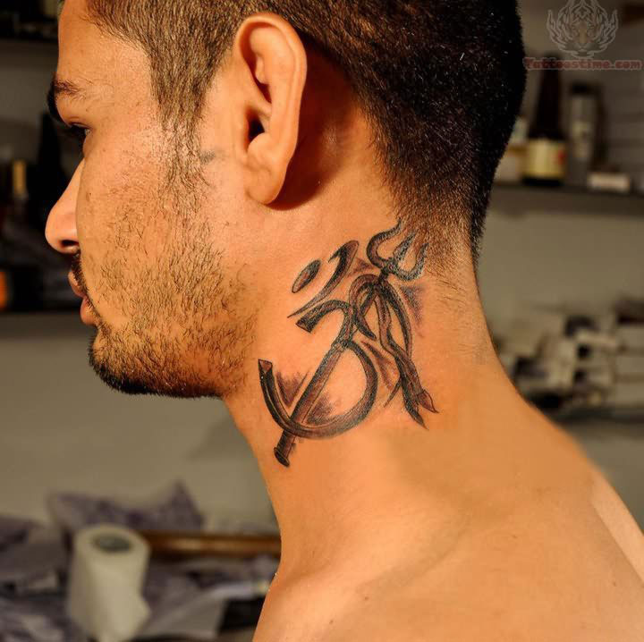 Best Small Tattoos For Men On Neck